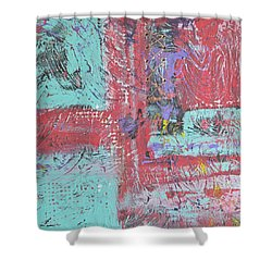 Keeping It Together Shower Curtain by Wayne Potrafka
