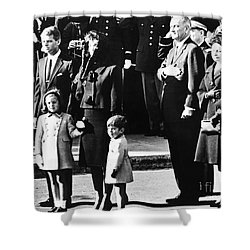 Kennedy Funeral, 1963 Shower Curtain by Granger