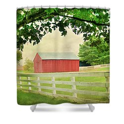 Kentucky Country Side Shower Curtain by Darren Fisher