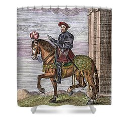 King Francis I (1494-1547) Shower Curtain by Granger