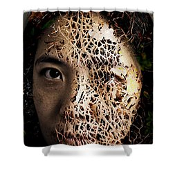 Knit Together Shower Curtain by Christopher Gaston