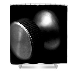 Knurled Shower Curtain by Lisa Phillips
