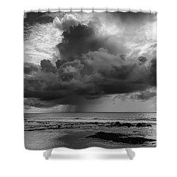 Kona Coast Squall - Big Island Hawaii Shower Curtain by Daniel Hagerman