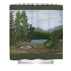 Kootenay Lake Bc Shower Curtain