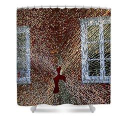 Kosta Shattered Shower Curtain