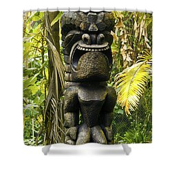 Ku - God Of War Shower Curtain