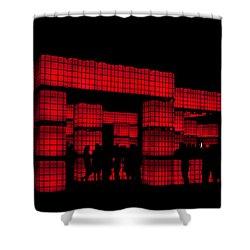 Kubism Shower Curtain by Andrew Paranavitana