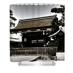 Kyoto Gosho Shower Curtain by Juergen Weiss