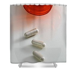 L5 Hydroxytryptophan Shower Curtain by Photo Researchers, Inc.
