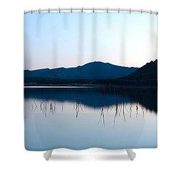 La Estanca-perdiguero 1 Shower Curtain by RicardMN Photography