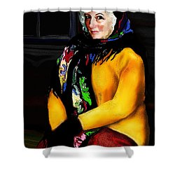 La Paysanne Russe Shower Curtain