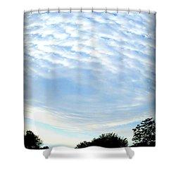 Shower Curtain featuring the photograph La Terre Est Ronde by Danielle  Parent