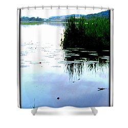 Shower Curtain featuring the photograph Lac William Quebec by Danielle  Parent