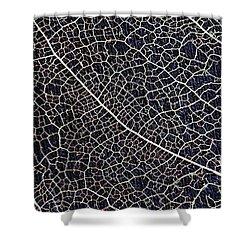 Lace Leaf 5 Shower Curtain