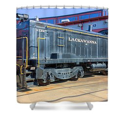 Lackawanna Locomotive 426 Shower Curtain by Clarence Holmes