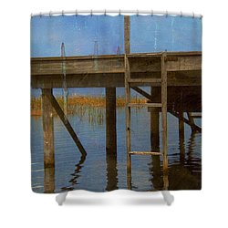 Ladder Shower Curtain