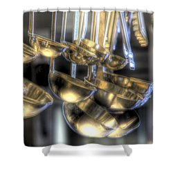 Ladles And Spoons Shower Curtain by Steve Gravano