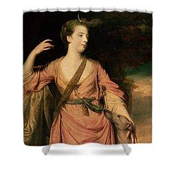 Lady Dawson Shower Curtain by Sir Joshua Reynolds