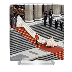 Lady Diana Spencer, 1981 Shower Curtain by Granger