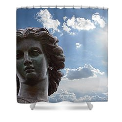 Lady Of The Waters Shower Curtain