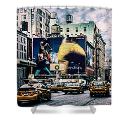 Lafayette And Houston Nyc Shower Curtain by Chris Lord