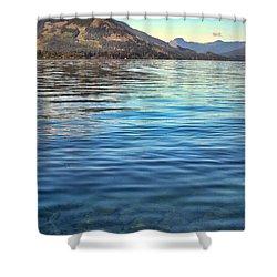 Lake Cowichan Bc Shower Curtain