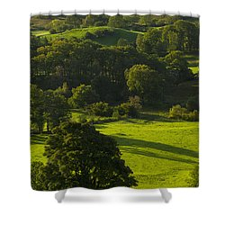 Lake District National Park, Cumbria Shower Curtain by Axiom Photographic