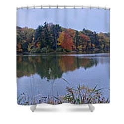 Shower Curtain featuring the photograph Lake Eastman by William Norton