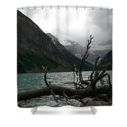 Shower Curtain featuring the photograph Lake Louise by Laurel Best