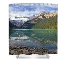 Lake Louise Splendour Shower Curtain by Teresa Zieba