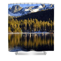 Lake Mary Reflections Shower Curtain by Lynn Bauer