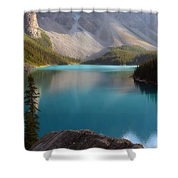 Shower Curtain featuring the photograph Lake by Milena Boeva