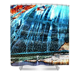 Lake Powell Reflection Shower Curtain