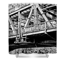 Lake Street Bridge Shower Curtain