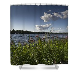 Lake View Shower Curtain by Gary Eason