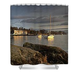 Lake Windermere Ambleside, Cumbria Shower Curtain by John Short