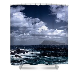 Land In Sight Shower Curtain