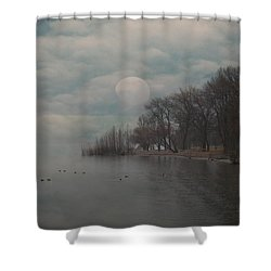 Landscape Of Dreams Shower Curtain by Joana Kruse