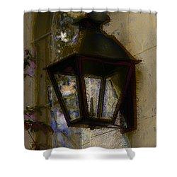 Lantern 11 Shower Curtain by Donna Bentley