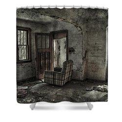 Last Days  Shower Curtain by Jerry Cordeiro