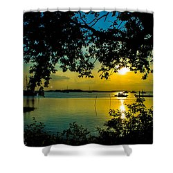 Last Patroll Tonight Shower Curtain