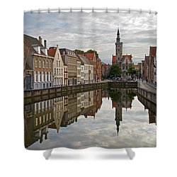 Late Afternoon Reflections Shower Curtain