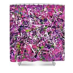 Lavender Fields Forever Shower Curtain
