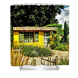 Le Jardin De Vincent Shower Curtain by Chris Thaxter