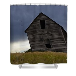 Leaning A Little 2 Shower Curtain by Bob Christopher