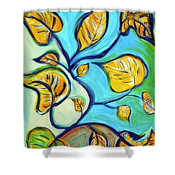 Leaves Of Hope Shower Curtain