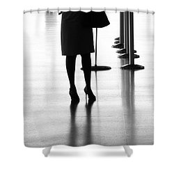 Leaving On A Jet Plane Shower Curtain by Rene Triay Photography