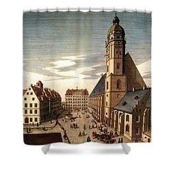 Leipzig: St. Thomas Church Shower Curtain by Granger