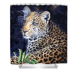 Leopard  Sold  Prints Available Shower Curtain
