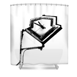 Less Time Shower Curtain by John King